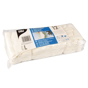 Baumwollhandschuhe weiss Größe L - Bild 2