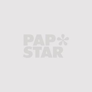 """Kochmützen, Vlies 30 x 28 cm weiss """"Toscana"""" größenverstellbar, gelegte Falten - Bild 2"""