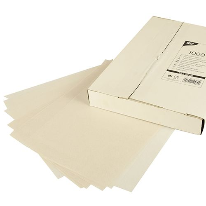 Sahneabdeckpapier 32 x 22 cm weiss - Bild 1