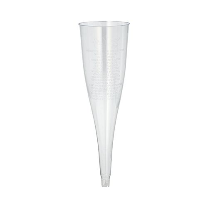 Einweg-Sektgläser (Oberteile) für Sekt, PS 0,1 l Ø 5 cm · 17,5 cm glasklar - Bild 1