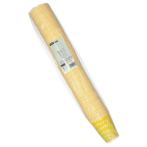 Pappbecher für Kaltgetränke, 0,3 l gelb - Bild 2
